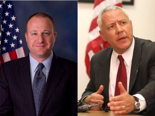 Rep. Jared Polis, left, is a a Democrat representing the 2nd Congressional District, and Ken Buck, a Republican, represents the 4th Congressional District in the U.S. House of Representatives.