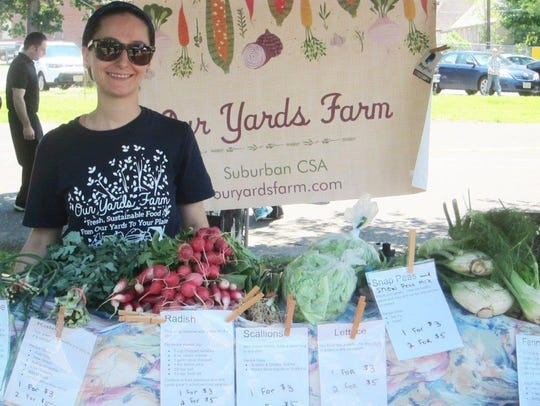 Julie Pierre from Our Yards Farm of Audubon turns suburban