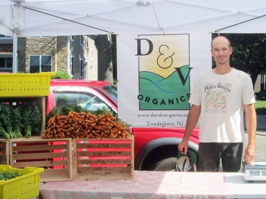 Derek Zember of D&V Organics of Swedesbor will attend the festival and share information about his CSA.