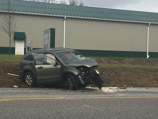 Car Hits 2 Tractor Trailers In Straban Twp