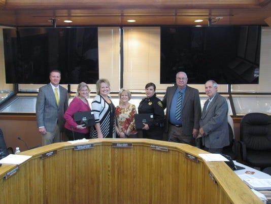 Eddy County Service Awards