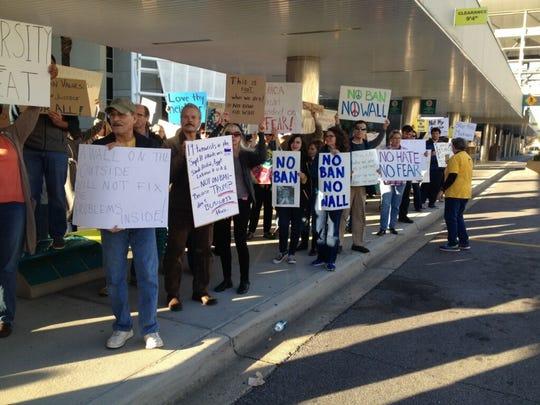 Demonstrators intend to converge at Pensacola International