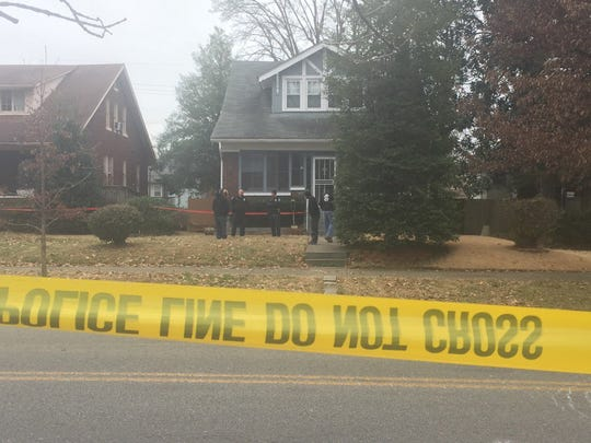 Officers also looking at this home in the 500 block