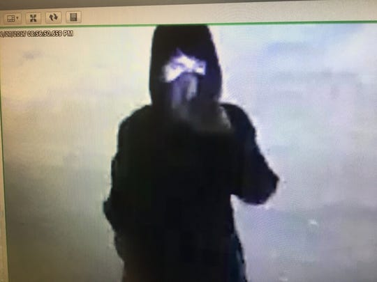 The Collierville police released this image of the Collierville vandalism suspect.