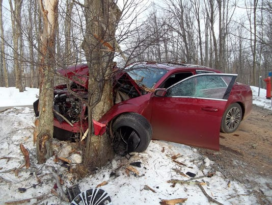 AP DRUNKEN CRASH MICHIGAN A USA MI
