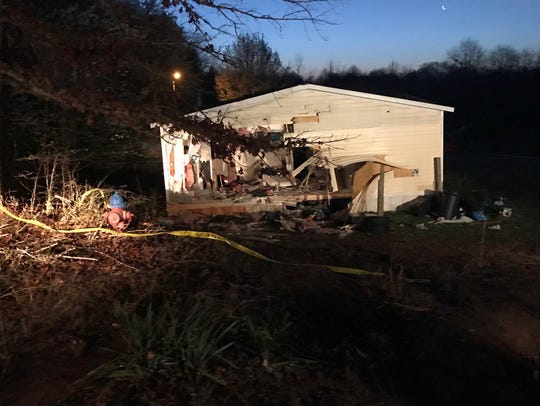 A car went into Willamston home late Thursday night,
