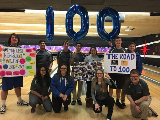 The Lyndhurst bowling team reached 100 straight league victories last season and will carry a win streak of 101 into 2017-18.