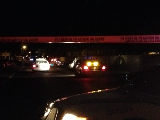 El Paso police were investigating a shooting late Tuesday