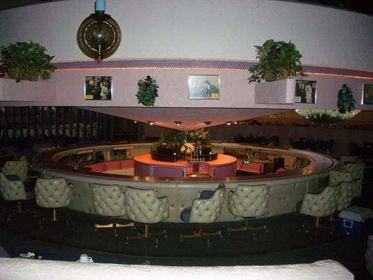 The Gobbler Supper Club in Johnson Creek used to have a rotating bar and a dance floor suspended from the ceiling. It closed in 1992, but the building was converted into the Gobbler Theater in 2015, with the rotating bar still  in use.