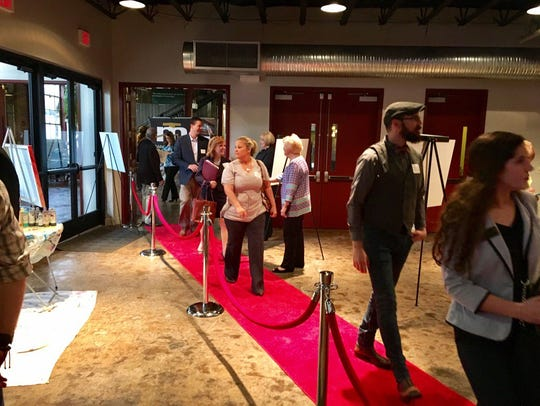 The red carpet for this year's Outlook Williamson event,