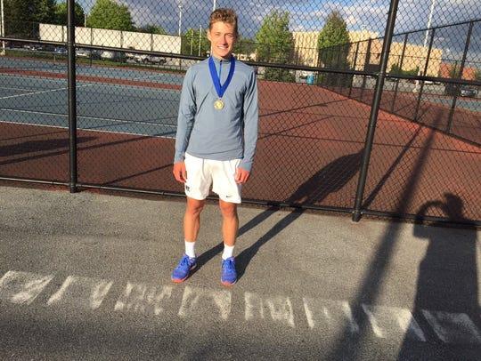 Cedar Crest sophomore Jack Muraika is the 2017 Lancaster-Lebanon