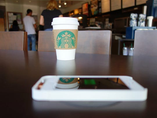 Since 2013, Starbucks offered consumers the ability