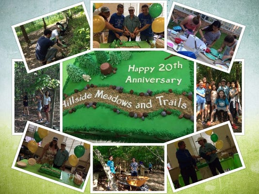 Hillside Intermediate School celebrates 20th anniversary of the outdoor classroom, Hillside's Meadows & trails