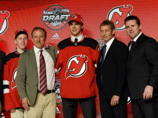 Devils pick Nico Hischier first overall in 2017 NHL draft aeeca12ba