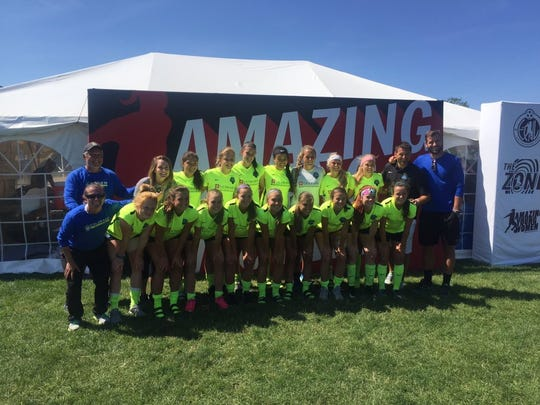 The Colorado Storm 00 team has advanced to the ECNL semifinals. Rocky Mountain's Savannah Warner and Gabriella McDonald and Windsor's Chaynee Kingsbury and Abby Gearhart play on the team.