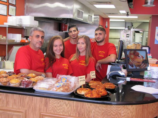 7/13/15: The staff of BagelBros & Deli: Raed Ahmed,