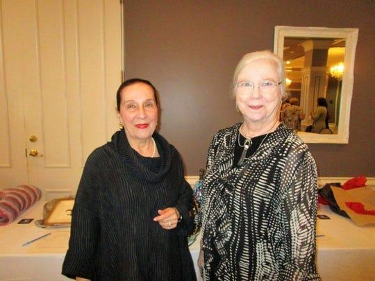 Jean Kreamer and Della Bonnette