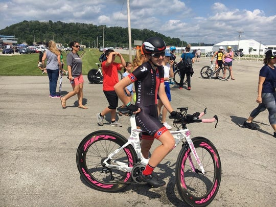 Murfreesboro's Gracie Pendleton has had success in road races and mountain bike races. She is one of the top nationally in her age division.