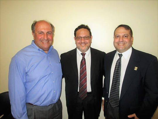 Doug Saloom, Kaliste Saloom, III and Greg Saloom