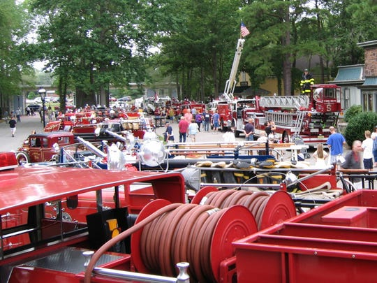 Wheaton Arts and Cultural Center, in association with the Glasstown Antique Fire Brigade, will host the annual fire brigade muster.