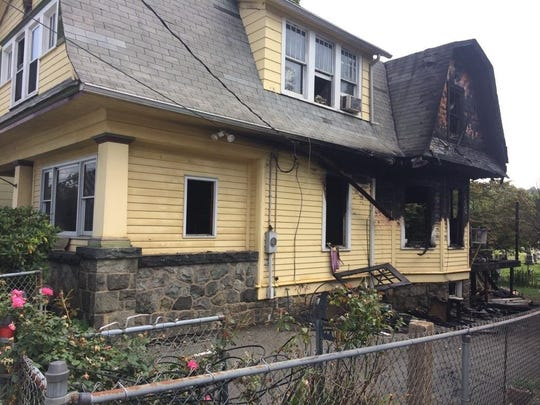 Three occupants escaped a house fire overnight Aug. 20 that left this home at 40 Thompson Ave. uninhabitable.