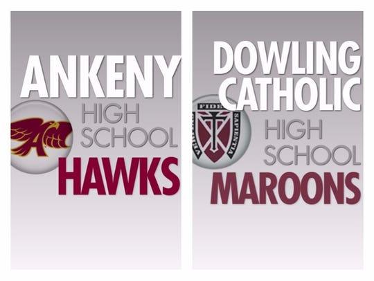 Ankeny vs. Dowling Catholic