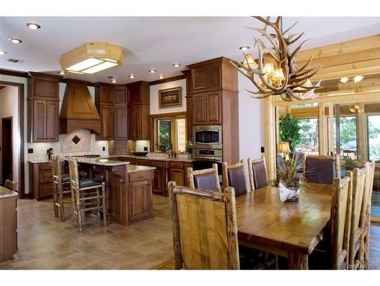 The kitchen at 395 Jessie Jones Dr.
