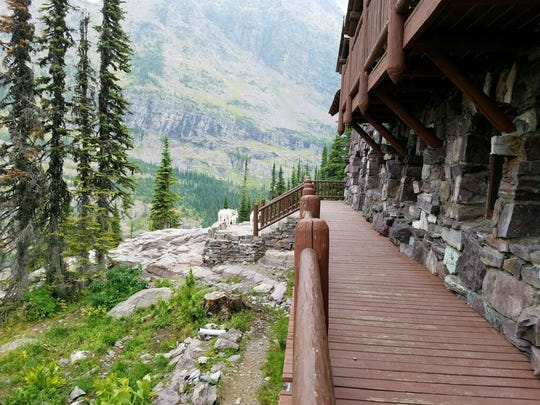 Sperry Chalet was a 104-year-old stone building nestled below Gunsight Pass in Glacier National Park.