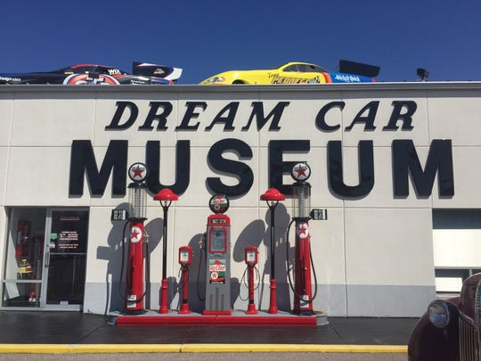 Entrance to the Dream Car Museum is free this weekend
