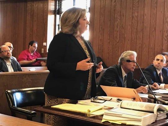 Ramapo Mountain Lakes attorney Eileen Born argued for