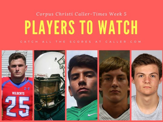 Week 5 Players to watch
