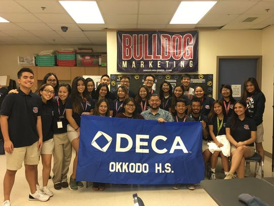 Okkodo High School won the Spirit Competition, netting