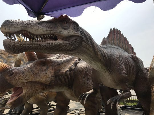 Check out the new indoor dinosaur attraction and interactive educational center, which opens Friday, Nov. 24, at  OdySea in the Desert, 9500 E. Via de Ventura, Scottsdale.