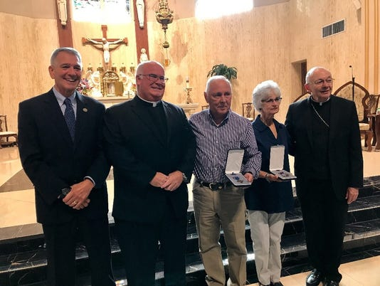 Priest awarded 2nd Distinguished Service Cross