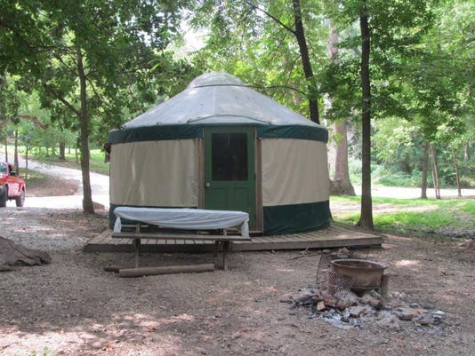 Yurts available to rent for NJ camping will be removed