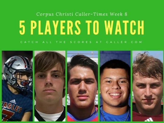Week 8 HS Football Players to watch
