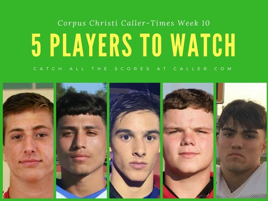 Week 10 Players to Watch