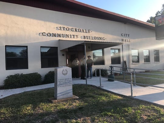 The Sutherland Springs Community Center where a news