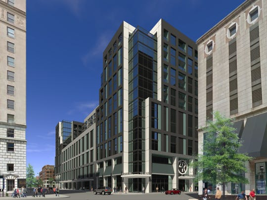 An artist's rendering of the proposed development at