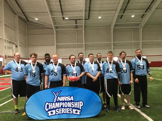 The Manitowoc Badgers Special Olympics flag football