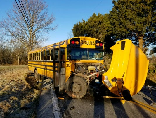 Dover Area school bus crash