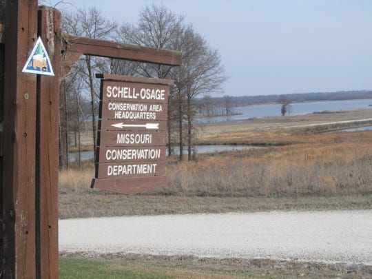 Headquarters at the Schell-Osage Conservation Area