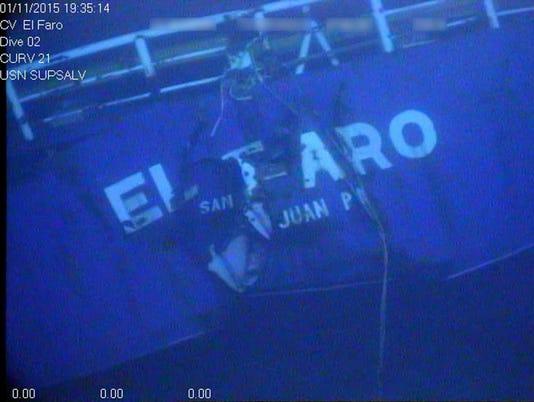AP EL FARO FINAL REPORT I FILE BHS