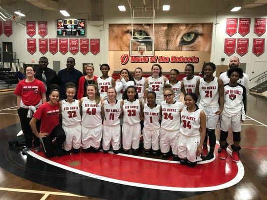 The Stewarts Creek High girls basketball team recently