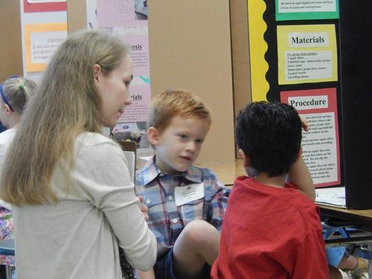 Former Science Fair super star Nikki Bouldin volunteered