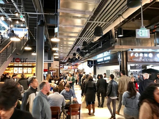 The Nashville food hall will have 30 local food stalls