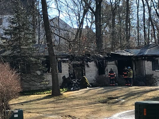 An elderly man and woman died in this ranch house fire
