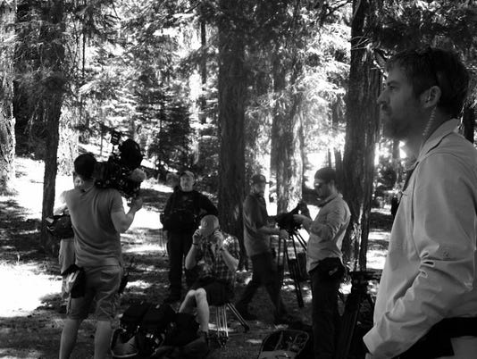 Film crew in Shasta County