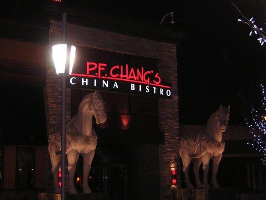 A P.F. Chang's restaurant is under construction at Willowbrook Mall in Wayne.
