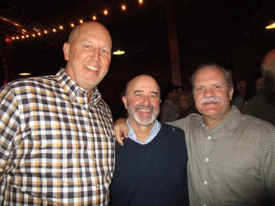 Chris Whitney, Gerald Dartez and David Fisher